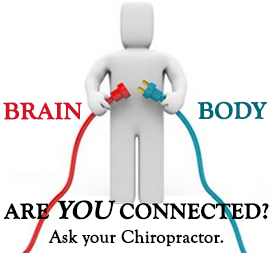 Brain / Body: Are you connected?  Ask your Chiropractor.